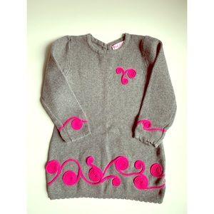 Pink Zebra Pink Swirl Sweater Dress